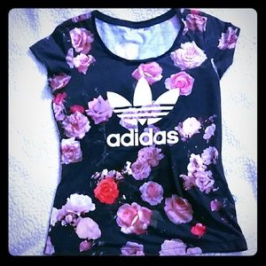 Adidas Rare Rita Ora floral top!